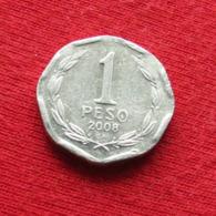 Chile 1 Peso 2008 KM# 231 Lt 404 Chili - Chili