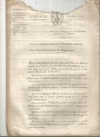JC , Trésorerie Nationale, AN 7, 1798, Liste Des Signatures Des Bons Au Porteur De 20 Et 25 Francs , Frais Fr 1.95 E - Décrets & Lois