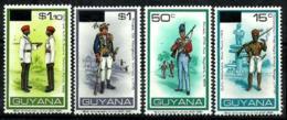 Guyana Nº 630/33 En Nuevo - Guyana (1966-...)