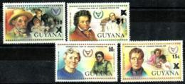 Guyana Nº 634/37 En Nuevo - Guyana (1966-...)