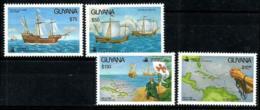 Guyana Nº 2718/21 En Nuevo - Guiana (1966-...)