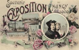 54 - Meurthe Et Moselle - Nancy - Souvenir De L'exposition De Nancy 1909 - D 0480 - Nancy
