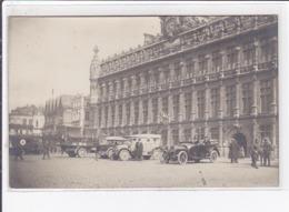 VALENCIENNES : Carte Photo De L'hotel De Ville (automobile) - Très Bon état - Valenciennes