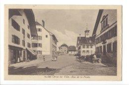 23551 -  Oron-la-Ville Rue De La Poste Animée - VD Vaud