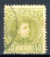 Espagne  Royaume 1901     Y&T   220    Obl    ---      TB - 1889-1931 Regno: Alfonso XIII