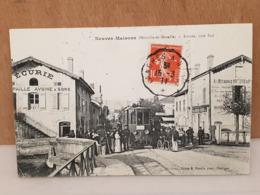 CPA Dpt 54 - Neuves Maisons ( Meurthe Et Moselle ) -  Le Tramway Entrée Coté Sud Ligne De Nancy Pont St Vincent - 1911 - Neuves Maisons