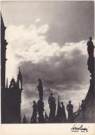 LOUIS BUFFIER : L'insolite : Le Ciel Est Par Dessus Le Toit ( C.p.s.m. - Grand Format ) - Illustrators & Photographers