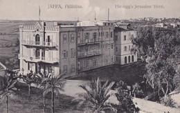 JAFFA        HARDEGG'S  JERUSALEM HOTEL - Israel