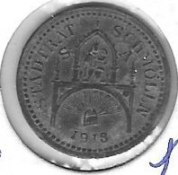 *notgeld  Schmolln  5 Pfennig  1918. Zn  478.1 - Autres
