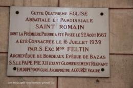 Blaye (33)- Eglise Saint-Romain (Tirage Limité) - Blaye