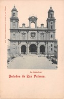 SALUDOS DE LAS PALMAS ~ AN OLD POSTCARD #99344 - La Palma