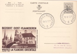 Entier Postal Publibel - N° 1349 Flandre Orientale - 1955 - FR-NL - Stamped Stationery