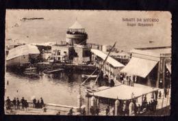 SALUTI DA LIVORNO - Bagni Acquaviva - F/P - V: 1917 - SB - Livorno