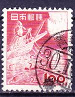 Japan - Kormoranfischer (MiNr: 592) 1953 - Gest Used Obl - 1926-89 Emperor Hirohito (Showa Era)