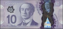 TWN - CANADA 107c - 10 Dollars 2013 Polymer - Prefix FTV - Signatures: Wilkins & Poloz UNC - Canada