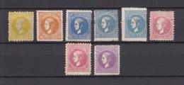 Serbien - 1869 - Michel Nr. 11/12, 14/15, 17 - Ungebr. - Serbia