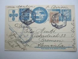 1940 , Tarjeta Postal  A  Alemania - Enteros Postales