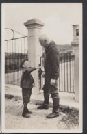 Famous People Postcard - Sir Wilfred Grenfell With Cripped Boy, Medical Missionary To Newfoundland DC2321 - Missions