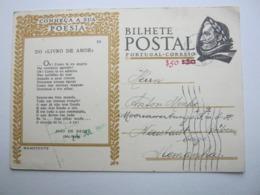 1949 , Tarjeta Postal  A  Alemania - Enteros Postales