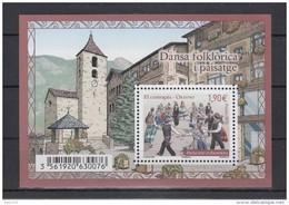 ANDORRA FRANCESA 2015 - DANZA FOLKLORICA - EL CONTRAPAS - BLOCK - French Andorra