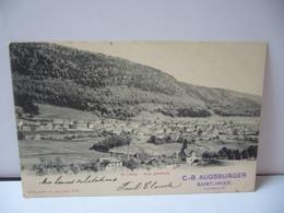 SAINT IMIER SUISSE BE BERNE VUE GÉNÉRALE CPA 1902 - BE Berne