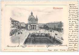 Pologne. N° 45346 . Warszawa. Kosciol S Aleksandra . Timbre Russe - Pologne