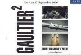 "Carte Postale Jean-Paul GAULTIER  ""GAULTIER 2""  2006 - Duftkarten"