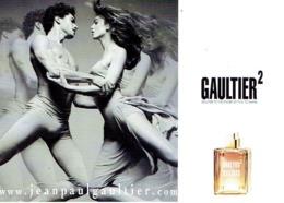 "Carte Jean-Paul GAULTIER  ""GAULTIER 2""  - Perfume Card ALLEMAGNE - 18 X 11,5 Cm - Duftkarten"