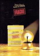"""Carte Postale Jean-Paul GAULTIER   """"FRAGILE"""" - Perfume Card ALLEMAGNE - Duftkarten"""