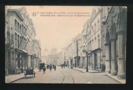 MECHELEN - RUE DE BEFFER VERS LE MARCHE AU BETAIL - Mechelen
