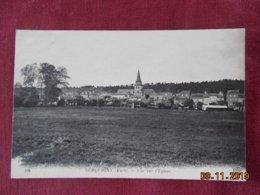 CPA - Serquiny - Vue Sur L'Eglise - Serquigny