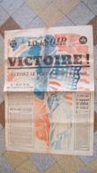 Journal Libération Soir Du 8 Mai 1945 - 1939-45