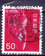 Japan - Miroku-Holzstatue Im Chugu-ji, Nara) (MiNr: 937) 1966 - Gest Used Obl - 1926-89 Emperor Hirohito (Showa Era)