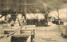 CPA - Belgique - Charleroi - Un Charbonnage - Charleroi