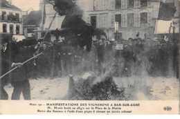 10    .    N° 203023           .           BAR SUR AUBE              .              MANIFESTATIONS DES VIGNERONS - Bar-sur-Aube