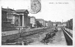 Lille - Le Palais De Justice Et La Deule - Lille