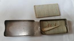 Boite De Lames De Rasoir Apollo / 2 Lames Emballées Papier D'origine - Razor Blades