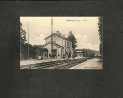 52 - HORTES - La Gare - 1915 - Autres Communes