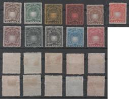 British East Africa Company, MH, 1890, Michel 4_16, 6 And 15 Are Missing ) - Kenya, Uganda & Tanganyika