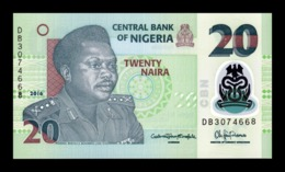 Nigeria 20 Naira 2016 Pick 34l Polymer SC UNC - Nigeria