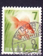 Japan - Goldfisch (Carassius Auratus) (MiNr: 928x) 1966 - Gest Used Obl - 1926-89 Emperor Hirohito (Showa Era)