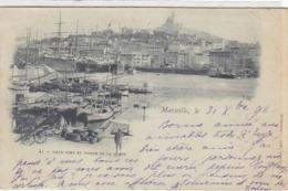 Marseille - Vieux Port - 1898             (A-128-160902) - Vieux Port, Saint Victor, Le Panier