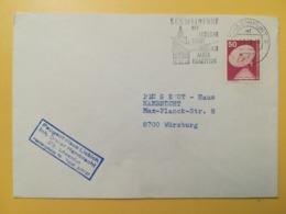 1978 BUSTA GERMANIA DEUTSCHE BOLLO INDUSTRIA TECNOLOGIA INDUSTRY ANNULLO OBLITERE' SCHWEINFURT ETICHETTA GERMANY - [7] Repubblica Federale