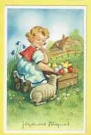 * Fantaisie - Fantasy - Fantasie * (Colorprint 53375/1) Pasen, Easter, Paques, Lam, Egg, Oeuf, Enfant, Agneau - Pasqua