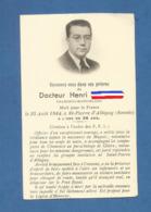 IMAGE GENEALOGIE FAIRE PART DECES MORTUAIRE   WW2 MAQUIS FFI RESISTANCE CHAMONIX SAVOIE SAINT PIERRE D ALBIGNY  1944 - Décès