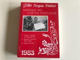 Catalogue Cartes Postales - Argus FILDIER 1983 - Boeken