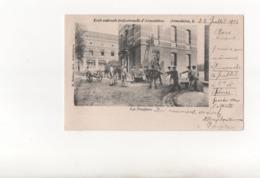 Les Pompiers..Ecole Nationale Professionnelle D'Armentières En 1904...Voir Scan. - Armentieres