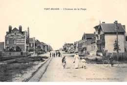 80    .    N° 203509          .             FORT MAHON            .            L AVENUE DE LA PLAGE - Fort Mahon