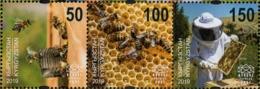 Kyrgyzstan - Express Post - 2019 - Beekeeping In Kyrgyzstan - Mint Stamp Set - Kyrgyzstan