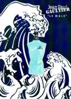 """Grande Carte Glacée Jean-Paul GAULTIER  """"LE MALE"""" SUMMER - Perfume Card USA - Duftkarten"""
